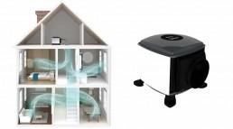 Positive input ventilation - condensation solutions